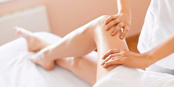 Anticelulitidní masáž těla + vyhlazení obličeje