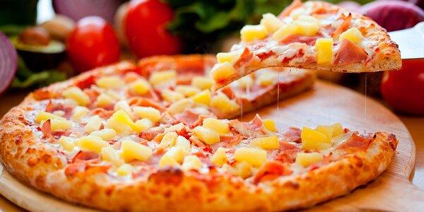Dvě poctivé pizzy k vyzvednutí