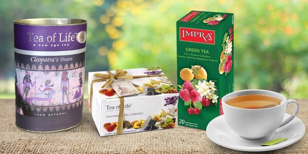 Skvostné cejlonské čaje podle výběru