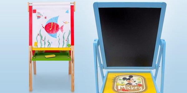 Dětské tabule pro malování křídou i fixou