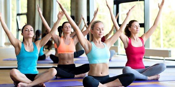 Permanentka na 5 cvičebních lekcí dle výběru