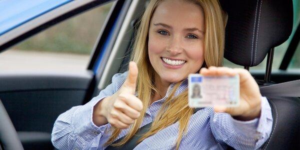 Řidičský průkaz skupiny B - naučte se řídit
