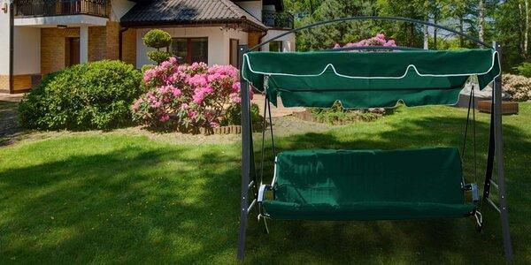 Dokonalý relax na zahradní houpačce