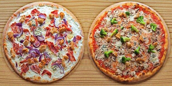 Až 3 pizzy plné výtečných ingrediencí