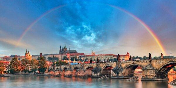 Báječný 4* odpočinek s wellness v Praze