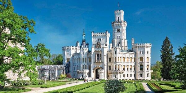 3 dny v Českých Budějovicích i prohlídka zámku