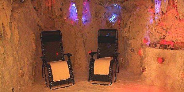 Blahodárná návštěva solné jeskyně na Vysočině