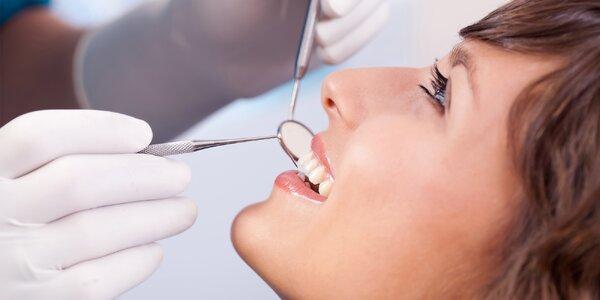 Dentální hygiena včetně pískování Air Flow