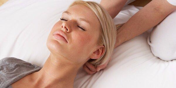 Zdravotní masáž zad