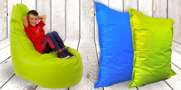 Dětské sedací vaky