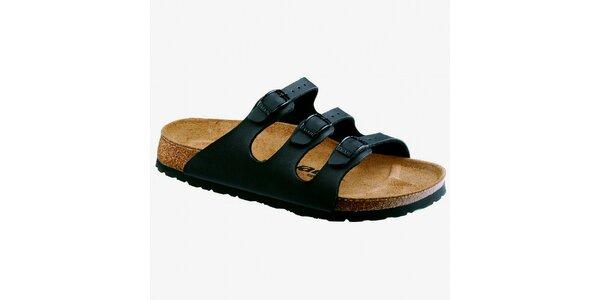 Dámské černé pantofle Newalk