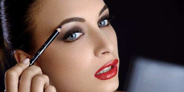 Zvýrazněte své oči s úpravou a nabarvením obočí