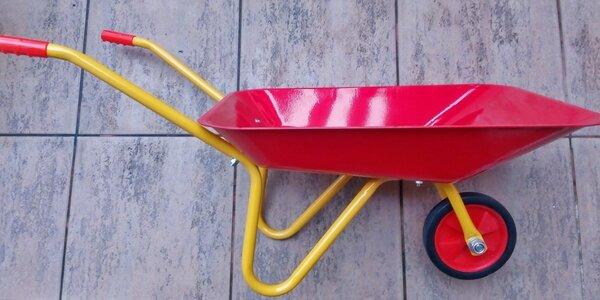 Dětská zahradní kolečka pro malé i větší pomocníky