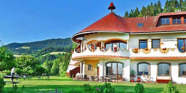 Rakouský ekohotel s polopenzí a wellness