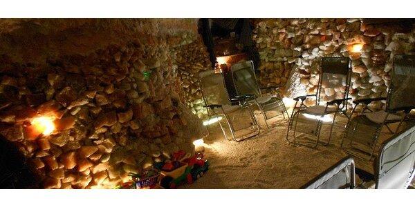 Permanentka na 5 vstupů do solné jeskyně