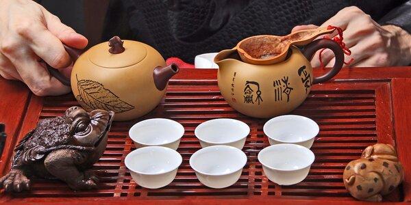 Čajový obřad a ochutnávka v čajovně Kašmír