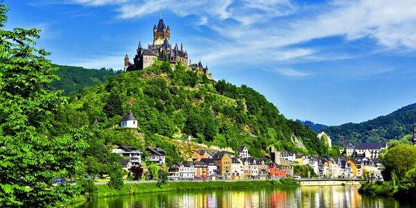 Německo + Lucembursko: 3 noci včetně snídaně