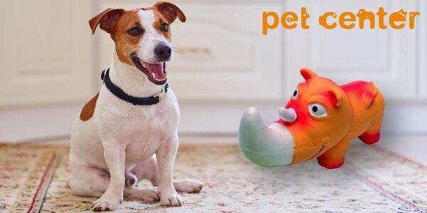 Odolná latexová hračka Huhubamboo pro psy