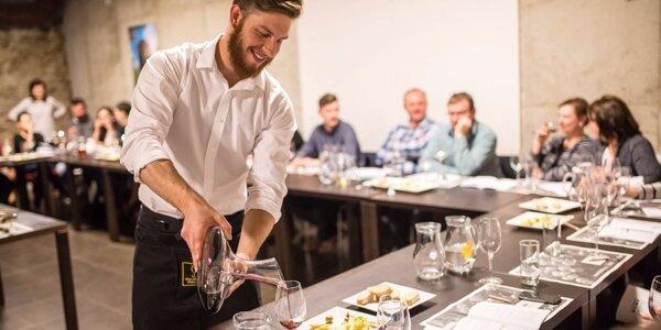 Vinařský kurz včetně degustace a sabráže