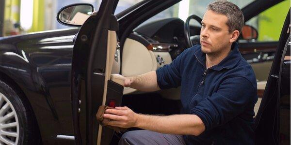 Kompletní čištění automobilu s kosmetikou Pikatec