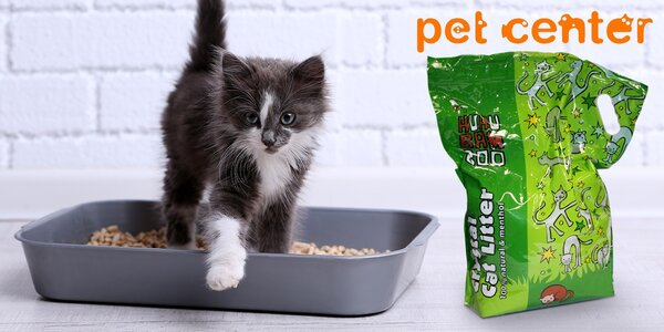 Silikonová podestýlka pro kočky od Huhubamboo
