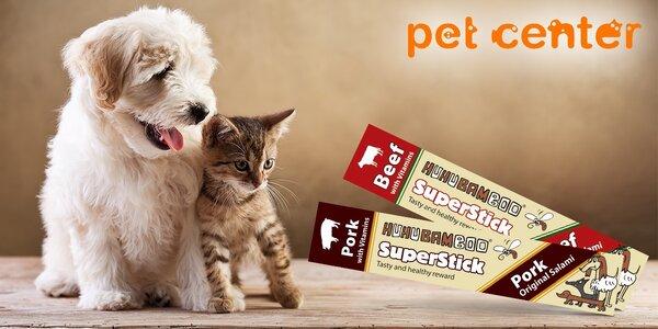 5 pamlsků Huhubamboo pro psí i kočičí miláčky