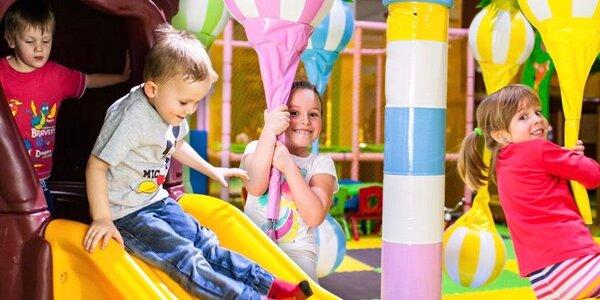 Den ve Funparku Žirafa pro 2 děti