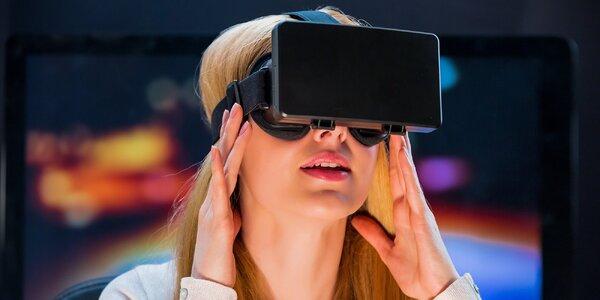 Virtuální realita s 3D brýlemi Oculus Rift