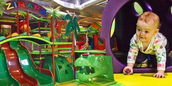 Celodenní vstup do Funparku Žirafa Kladno pro 2 děti