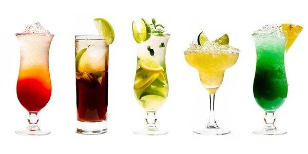 Čtyři koktejly za úžasných 199 Kč