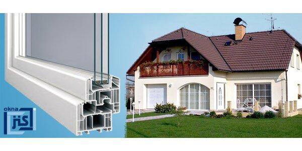 42% sleva na plastová okna a balkonové dveře