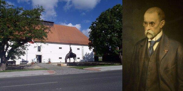 Vstupné do Muzea T. G. Masaryka v Lánech a káva