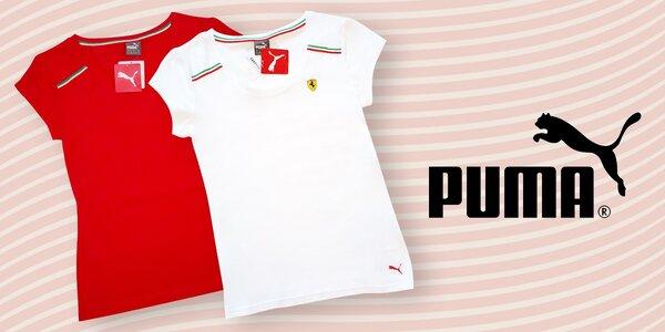 Dámská a pánká trička od značky Puma