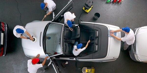 Kompletní mytí vašeho vozu suchou cestou