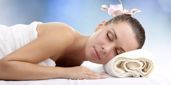 Klasická masáž zaměřená na záda a šíji
