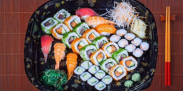 Jedinečná chuť Asie: Bohatý sushi set pro 2