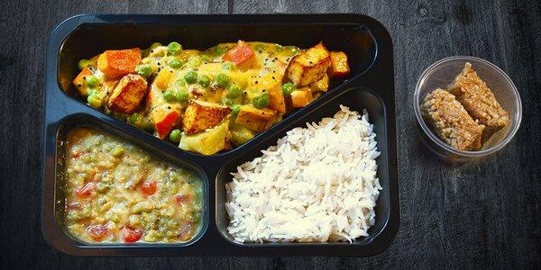 Vynikající vegetariánský oběd vč. rozvozu