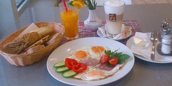 Energie na celý den: Výběr ze 4 jídel, káva a pomerančový fresh