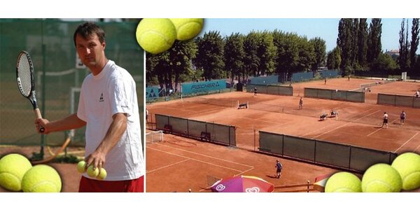 99 Kč za 2 hodiny tenisu pro 2 až 4 osoby!