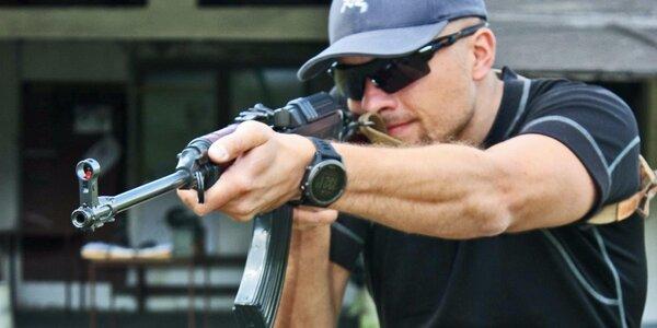 Dynamická střelba z krátkých i dlouhých zbraní
