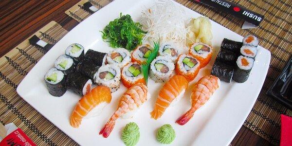 Famózní sushi sety od profíků ze Sushi Miomi