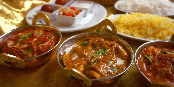 Autentické nepálské menu dle výběru pro dva