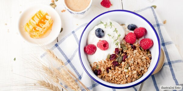 Svěží snídaně z farmy – prima začátek nového dne
