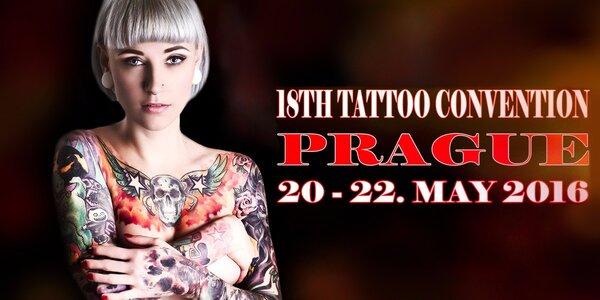 Lístek na tatérský festival Tattoo Convention