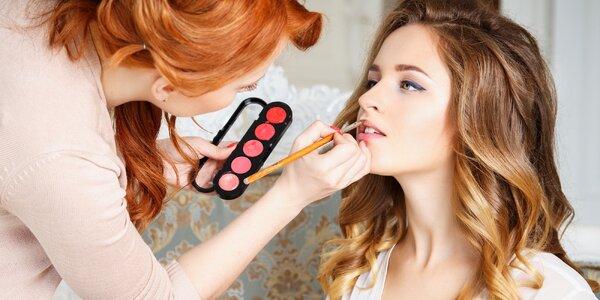 Kurz líčení, kosmetické poradenství nebo svatební vizáž