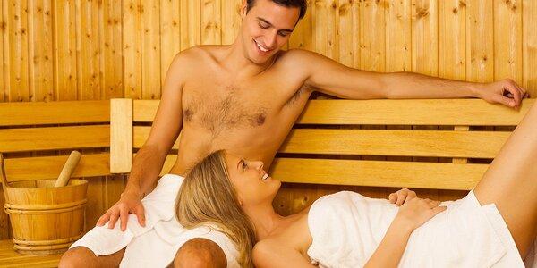 Privátní veget ve finské sauně pro dva