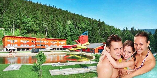 Vodní radovánky a wellness ve Špindlerově Mlýně