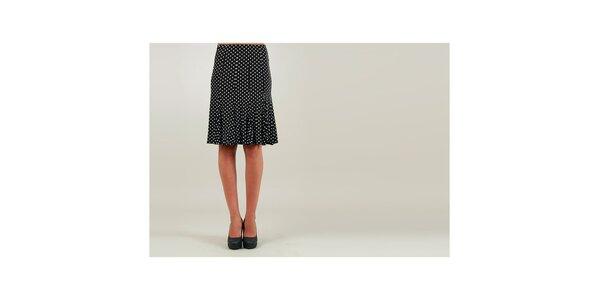 Dámská černá puntíkovaná sukně Ginger Ale