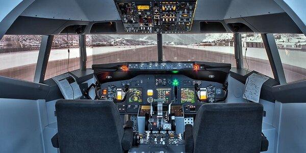 Stoupejte výš na leteckém simulátoru Boeingu