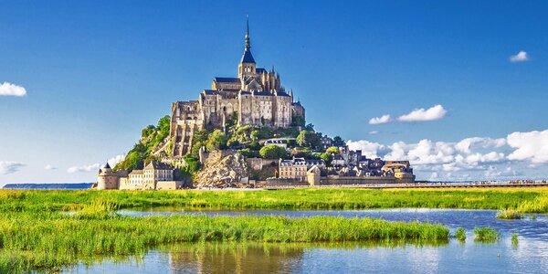 Paříž a osmý div světa Mont Saint Michel